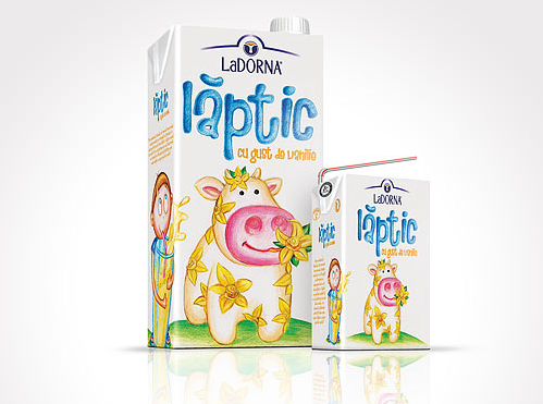 LaDorna Laptic - flavored milk for smart kids