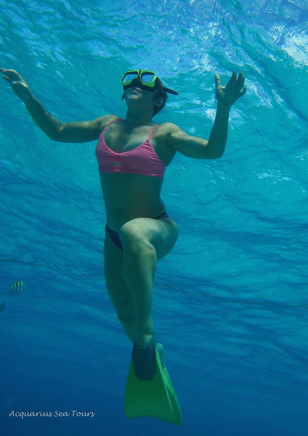 SNORKELLING THE BLUES