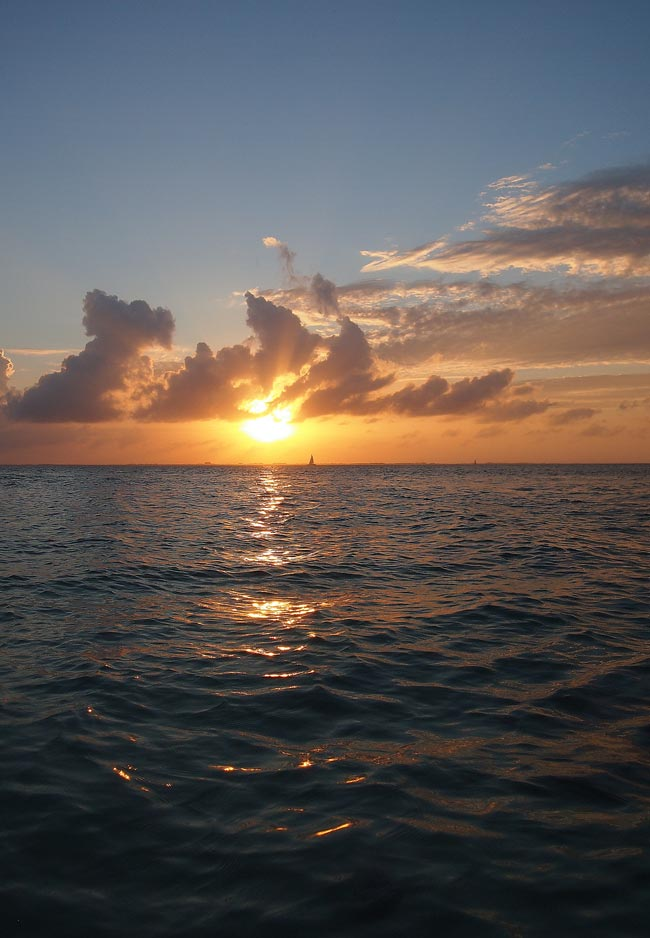 Sunset from  Starfish Point  in Grand Cayman