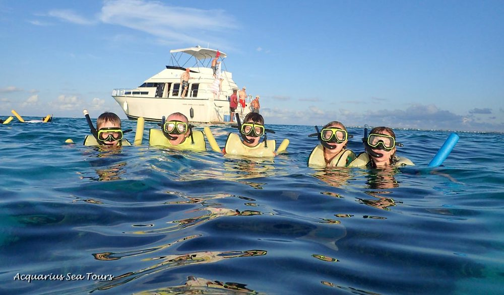 Families that snorkel together, keep memories forever!