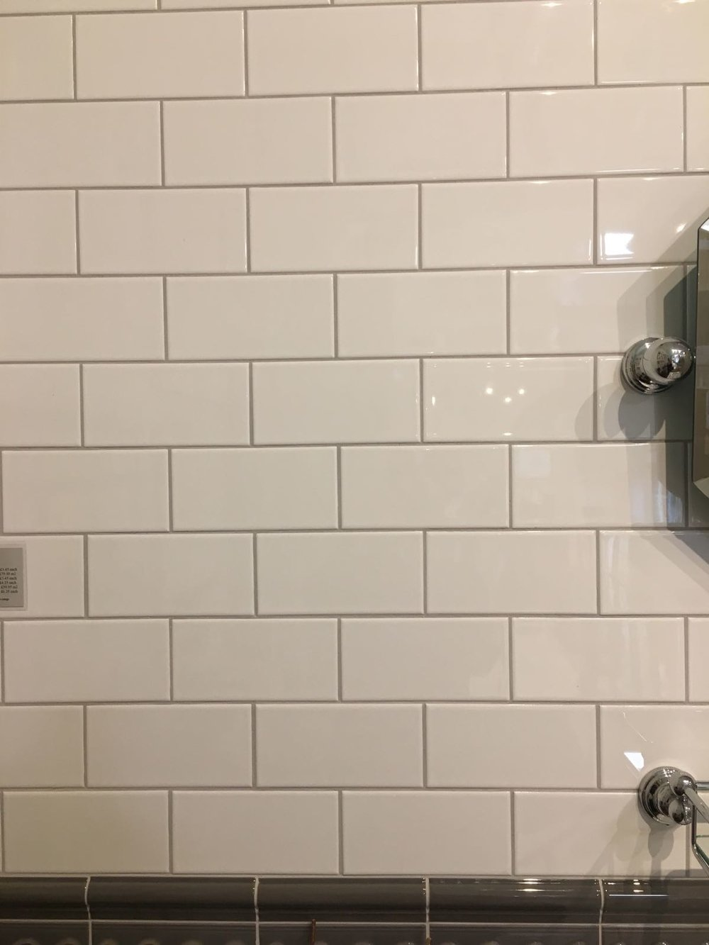 .....and these subway tile for the children's bathroom.