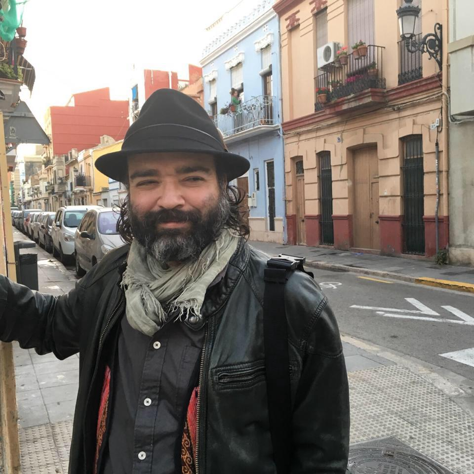Javier Felipe Gonzalez E. (Colombian, from Bogotá) attended IAIA from 2001 to 2004, receiving a AFA degree in 2D-3D fine arts.  He holds a MFA in Digital Media from the University of Valencia and currently lives and works as an artist and art gallery consultant near Valencia, Spain.