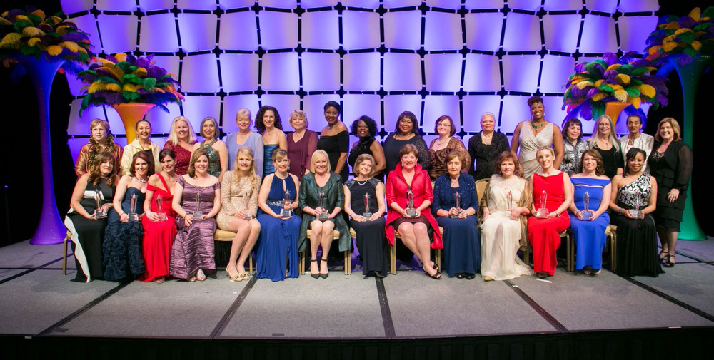 The 2014 WBE Stars and representatives of the Regional Partner Organizations at the Salute in New Orleans, LA.