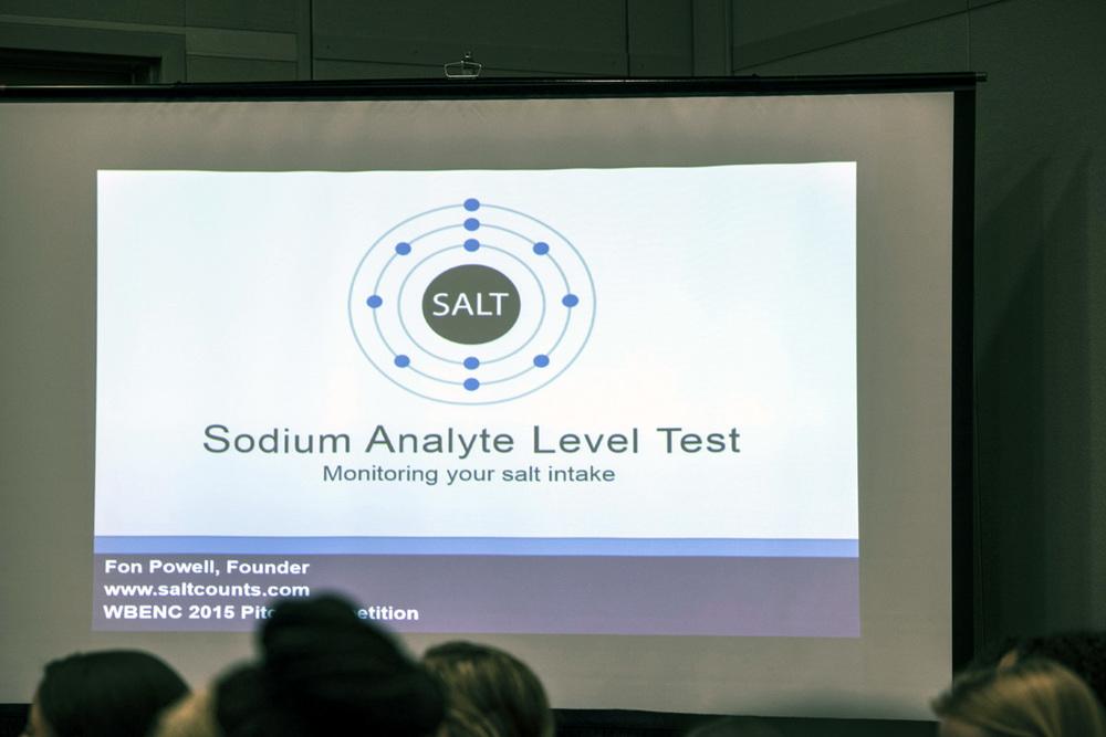 Fon Powell's presentation on salt.