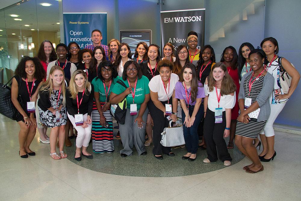 SEP students visit the IBM Innovation Center