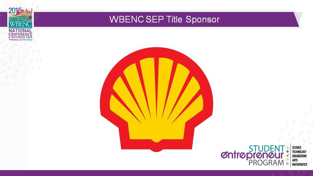 2015 SEP Title Sponsor