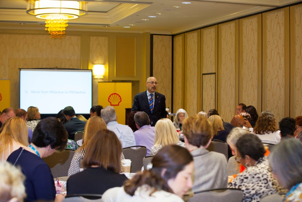 Sales and marketing strategist Todd Cohen offered a new way of thinking about making connections at the Shell Sponsored Sales Culture Seminar at Summit & Salute.