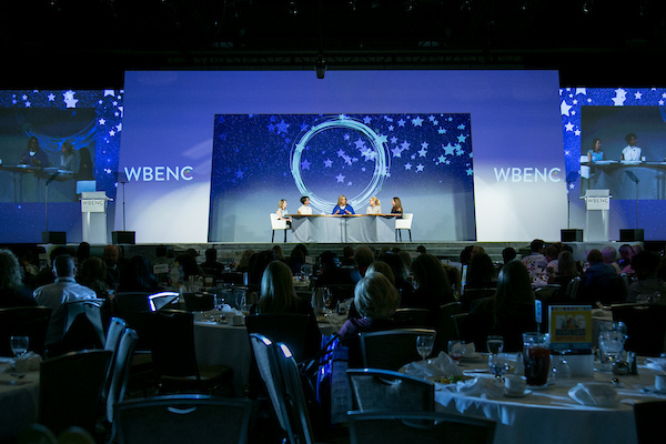 Among other things, the lunch programming featured discussions with our Corporate Members on diversity and inclusion, an update on new WBENC programs, and a discussion with keynote speaker Julie Sweet from Accenture,
