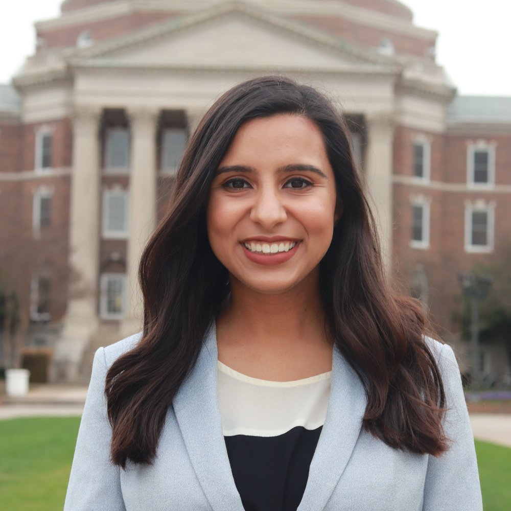 Neha Husein from Southern Methodist University founder of  Just Drive