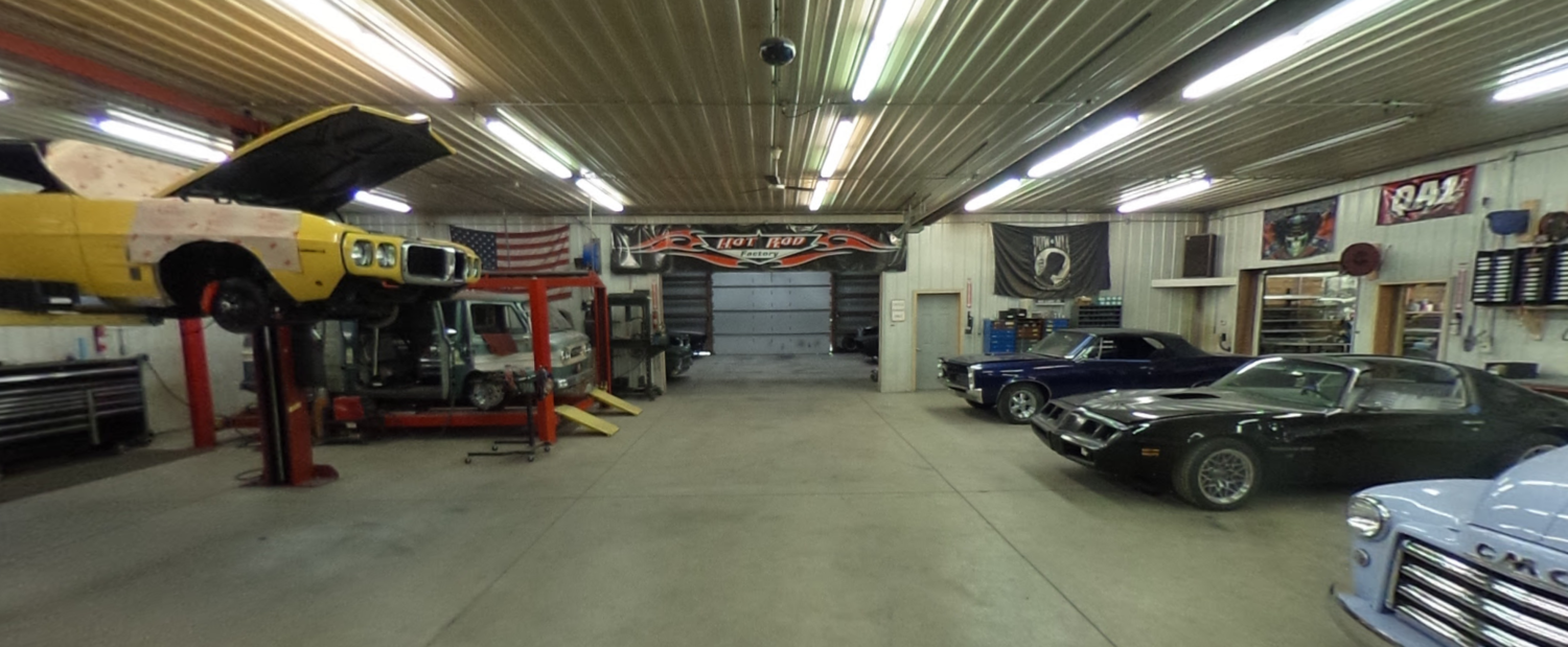 Google Maps Virtual Tour for Minneapolis Hot Rod Restoration Business