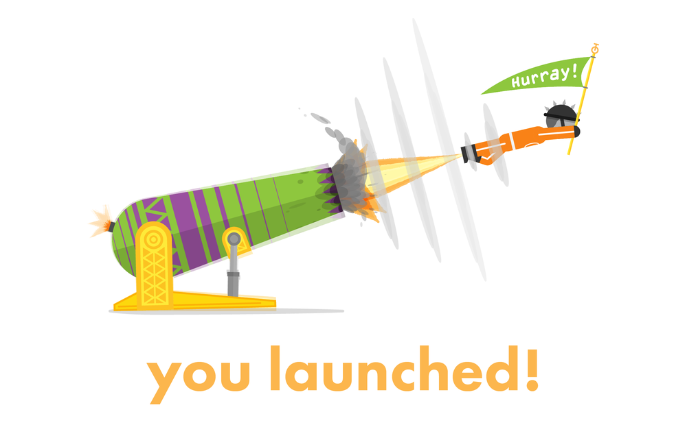 Launch Card Cover -