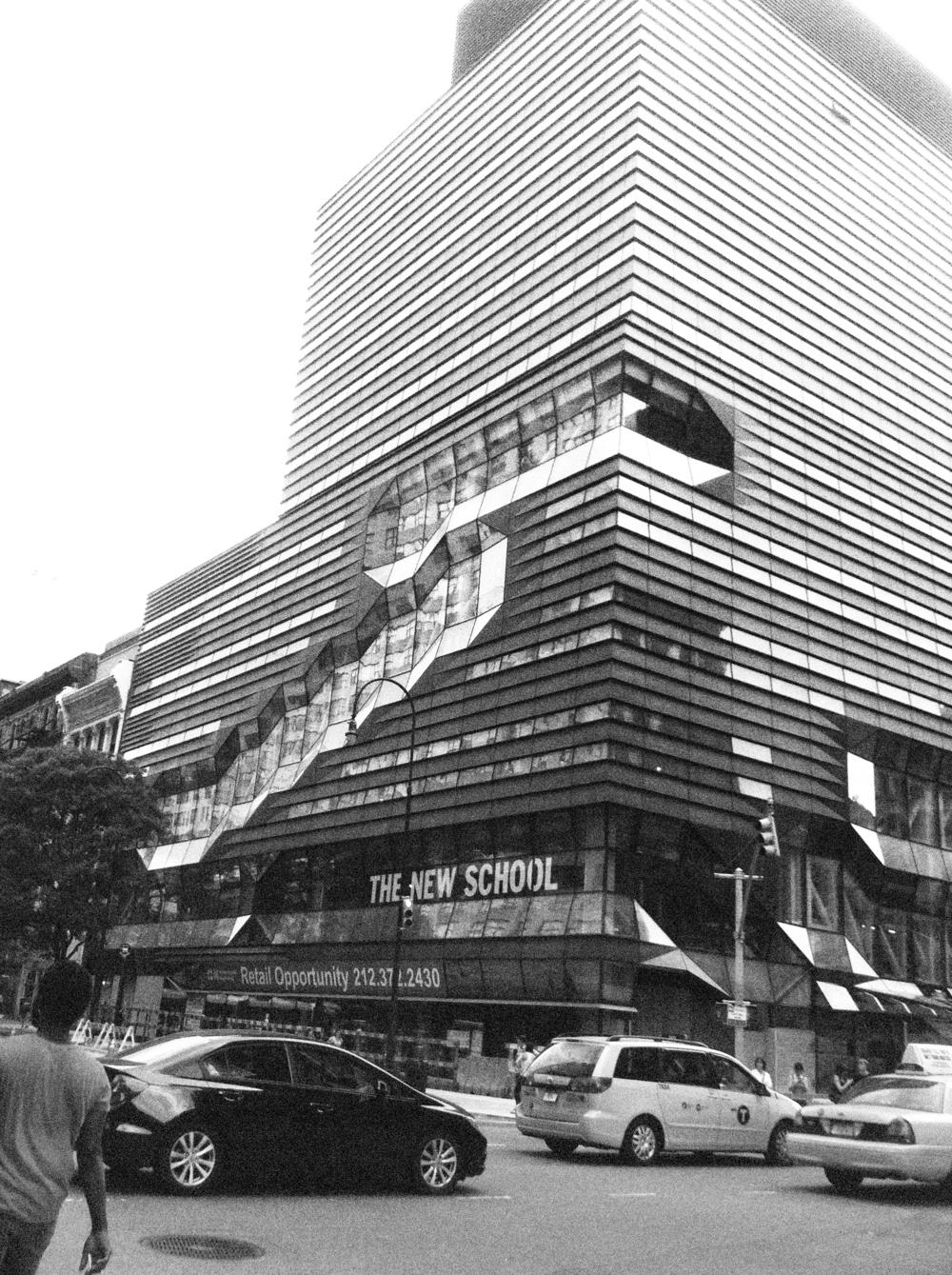 The New School University Center . 65 Fifth Avenue New York, NY 2012.
