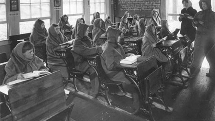 Potter Fresh Air School Indianapolis, Indiana, 1914.