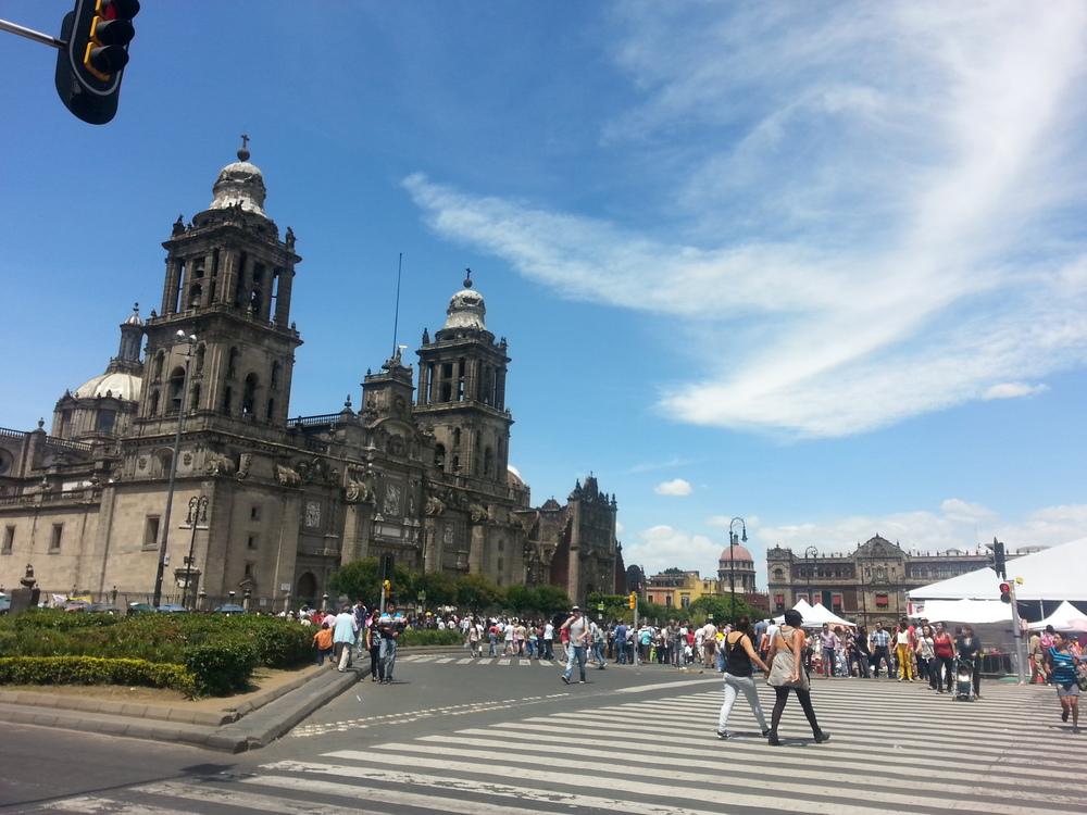 MexicoCityCentroHistoricoCreme