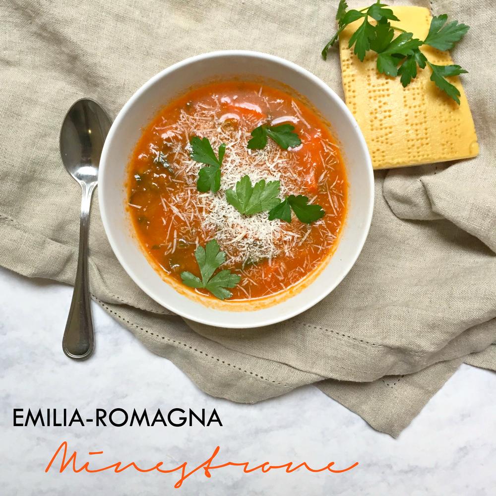 Emilia Romagna Minestrone Soup | cremelifestyle.com