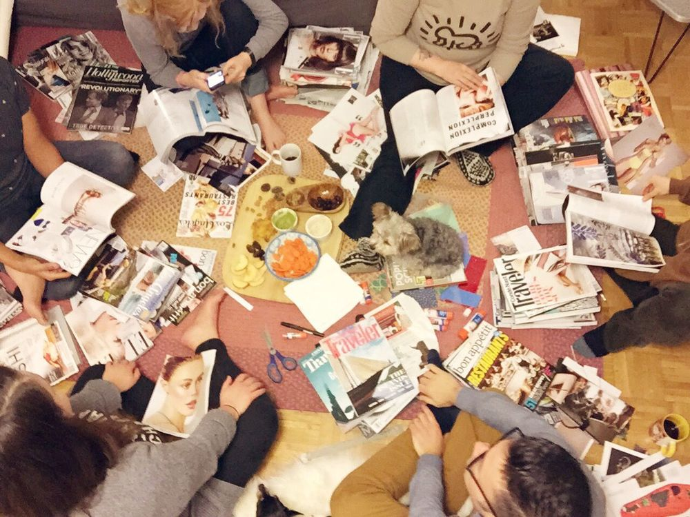 Vision Board Party | cremelifestyle.com