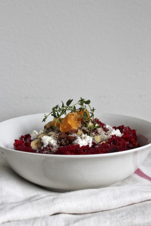 mash pot sweet potato beet