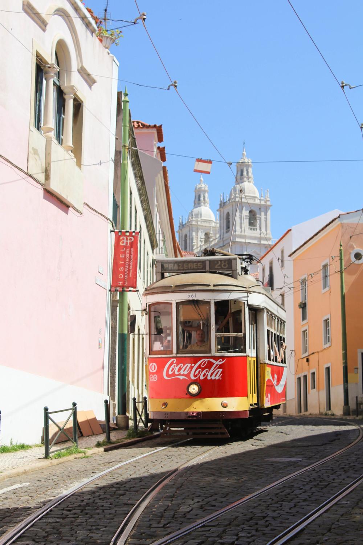 Lisbon Alfama Tram 28