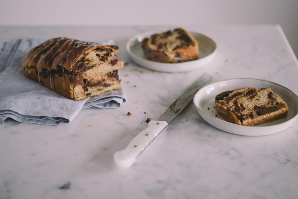 Rye chocolate & cinnamon babka