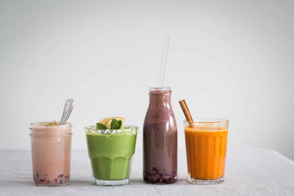 four smoothies for 2016