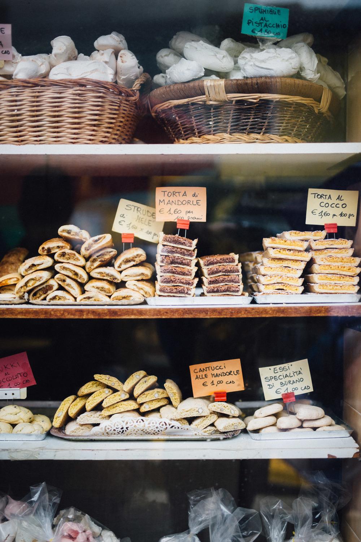 Buranelli, a Venetian cookie