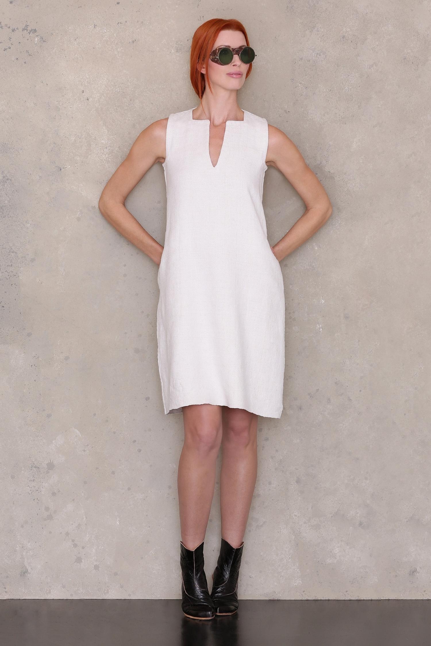 Sleeveless Shift Dress PDF Sewing Pattern — Sewing Patterns | Ann ...