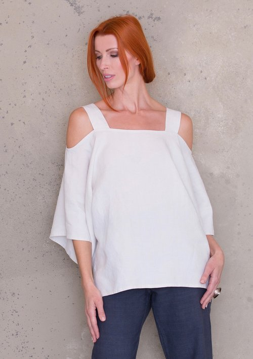 Off the Shoulder, Cold Shoulder Tunic Top PDF Sewing Pattern ...