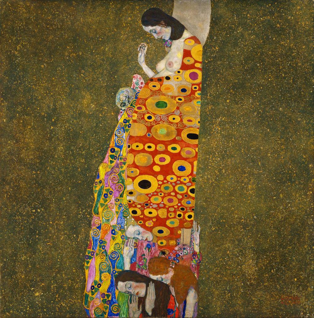 Gustav Klimt, Hope II (1907-08)