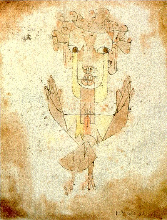 "Paul Klee, ""Angelus Novus"" (1920)"