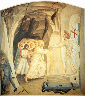 "Fra Angelico, ""Christ's Descent into Hell"" ( c. 1437-1446)"