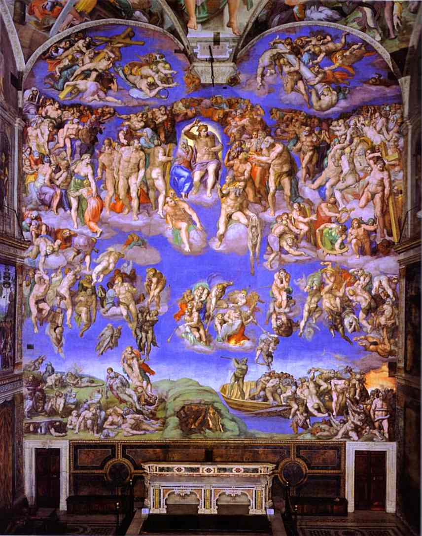 Michelangelo - The Last Judgment.JPG