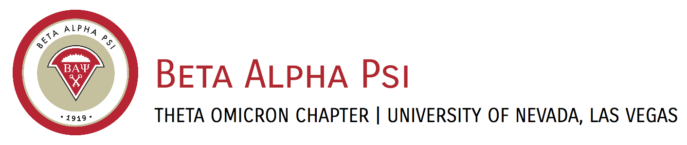 Beta Alpha Psi - Theta Omicron Chapter