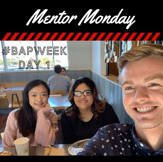 Today is Mentor Monday aka Day 1 of #BAPWeek! 👏👯‍♀️ UNLV BAP believes that mentorship is important to strive in the professional world. Shoutout to our BAP mentor Glen and his two buddies: Andrea and Kristina, for participating in our Mentor/Buddy program last Fall!  If you would like to sign up to be a mentor or buddy, you can do so through our BAP applications, due 1/31 at 6PM! Share your favorite Mentor Monday picture to social@unlvbap.org or tag us and a winner will be chosen for next week's Mentor Monday.