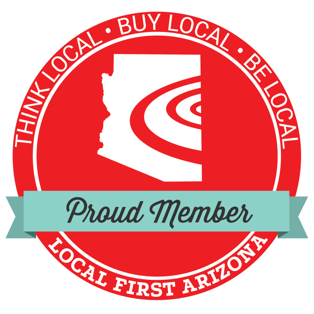 Local First Arizona Proud Member banner