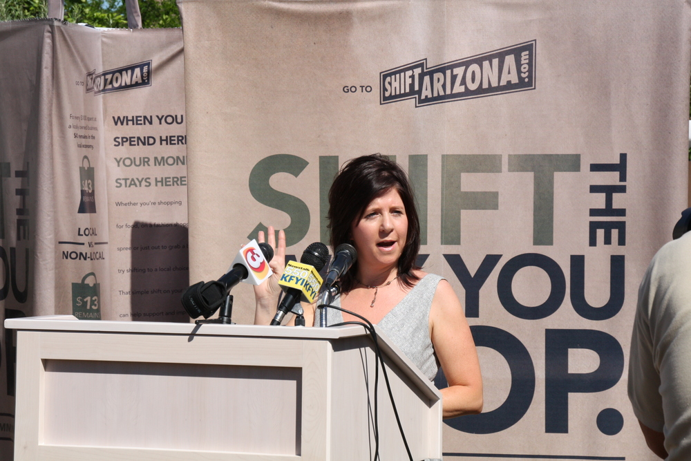 Local First Arizona launches the Shift Arizona campaign in 2010