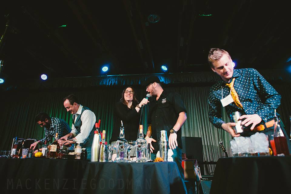 Devour Bartending Competition Mixing