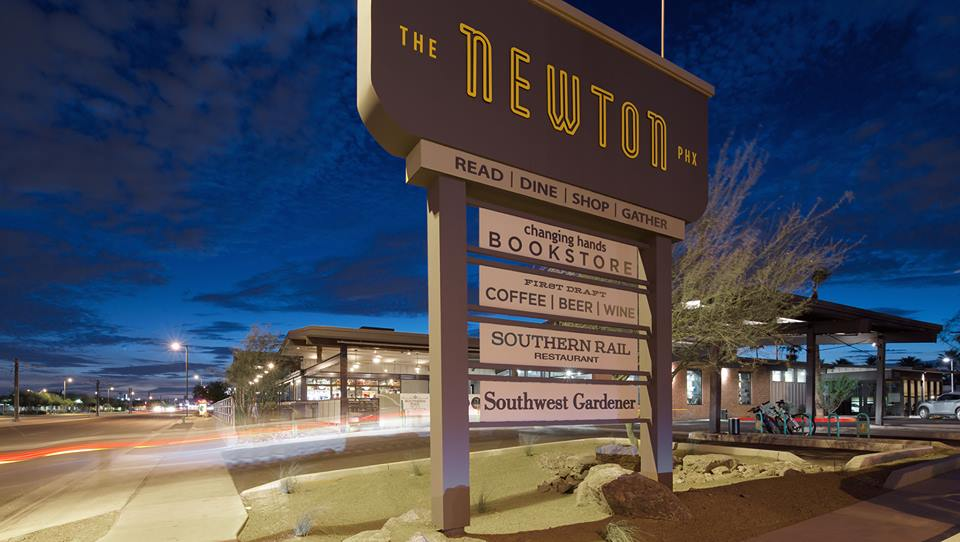 The Newton Front