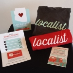 Localist Shirts being raffled at listed Farmers Markets!