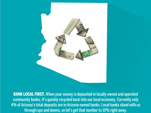 banking ad smart money stays in az