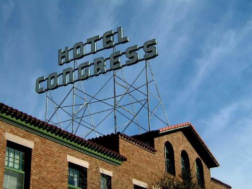 Hotel Congress in Tucson is a great hotel in the heart of downtown. Photo credit: Hotel Congress, via Facebook.