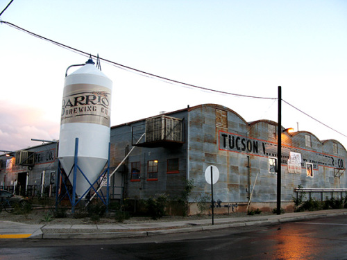 Barrio Brewing Co. is a gem in the Downtown Tucson warehouse district.