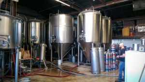 Barrio Brewing Tanks