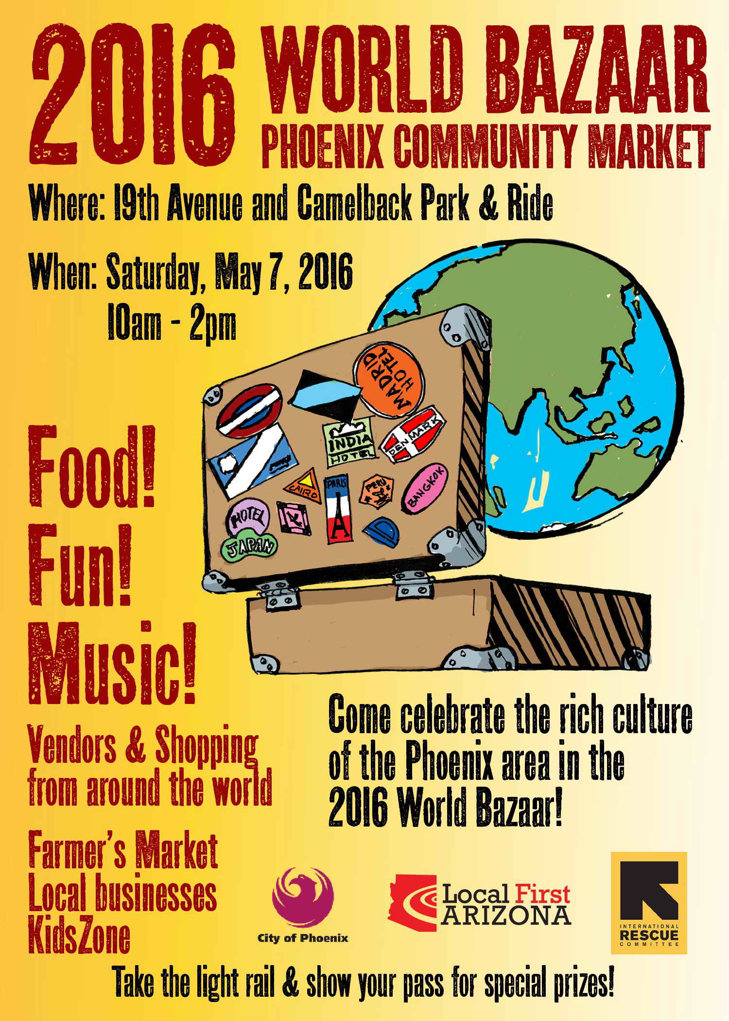 2016 World Bazaar flyer