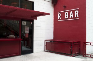 The R Bar is only a few steps away from the theatre and is a great spot for a drink before or after a show.