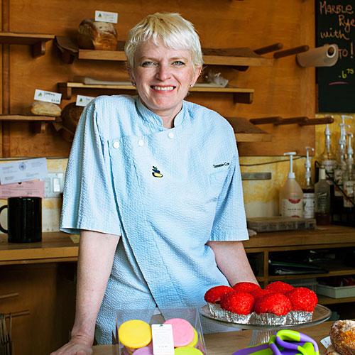 Tammie Coe of Tammie Coe Cakes- sunset.com