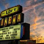 The loft cinema sign