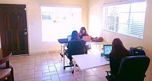 Coworking desks
