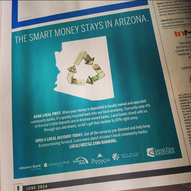 Banking ad