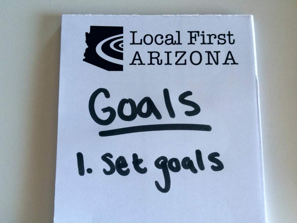 LFA Goals Notepad