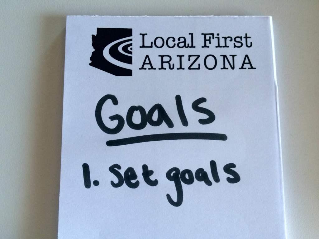 LFA Goals Notepad